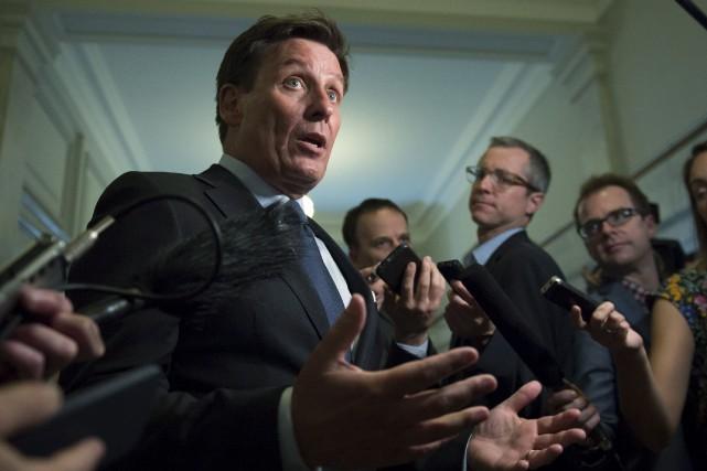 «Tant que les chantiers ne sont pas perturbés,... (La Presse canadienne, Jacques Boissinot)