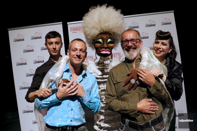 Les codirecteurs artistiques du Festival international des arts... (Le Quotidien, Yohann Gasse)