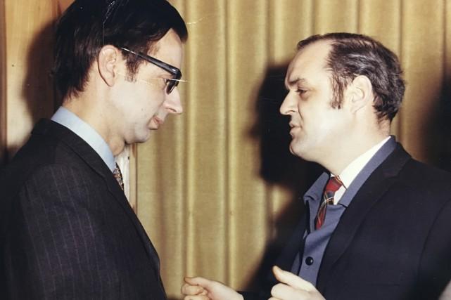 Robert Bourassa était député de Mercier lorsqu'il a... (Courtoisie)
