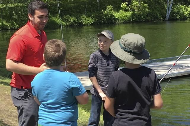 Jean-Phillippe Perron offre ses cours de pêche à... (Photo fournie)