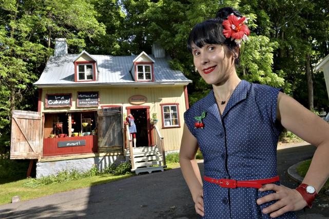 La céramiste Alexandra Ratté ouvre sa Cabane pour... (Le Soleil, Patrice Laroche)