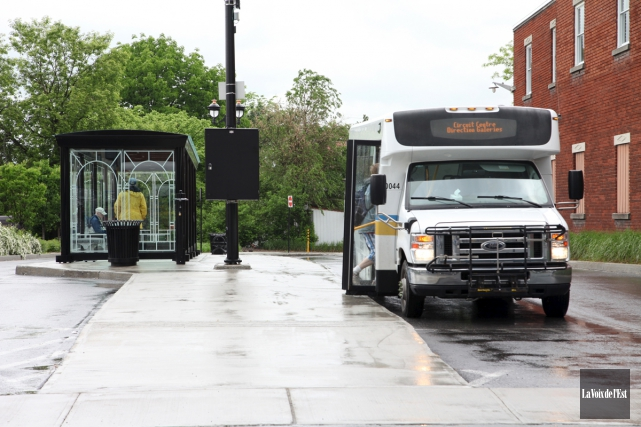 Le service de transport en commun sera assuré... (archives La Voix de l'Est)