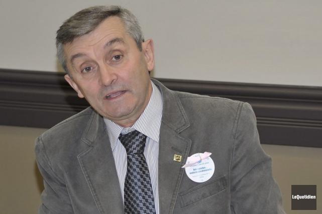 Le conseiller municipal André Fortin lorgne le poste... (Archives le Quotidien, Gimmy Desbiens)