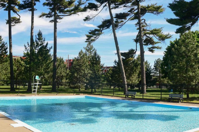 La piscine du parc Jean-Béliveau... (Andréanne Lemire)