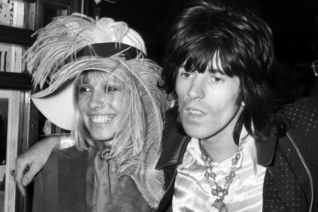 Anita Pallenberg et Keith Richards en 1968.... (ARCHIVES AP)