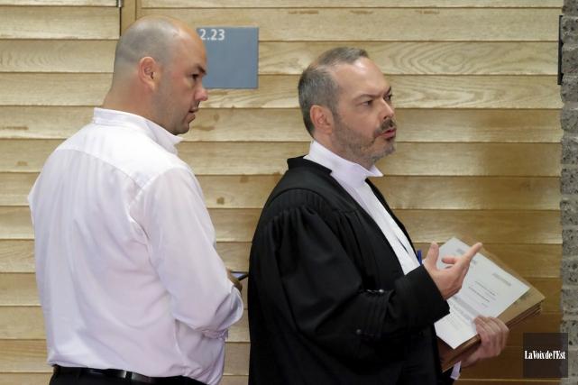 Les avocats au procès de Patrice Beauregard, Me... (La Voix de l'Est)