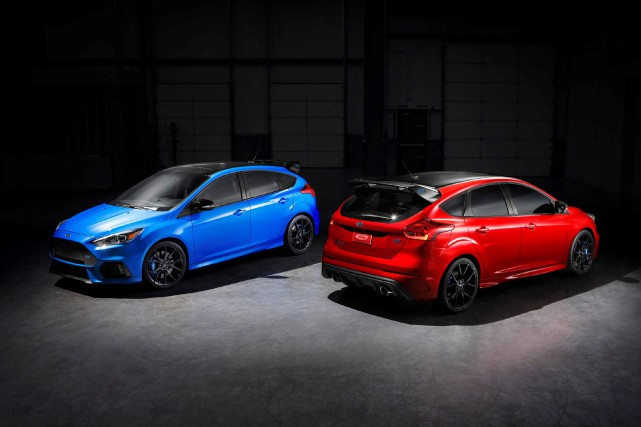 La Ford Focus RS 2018... (Photo fournie par Ford)