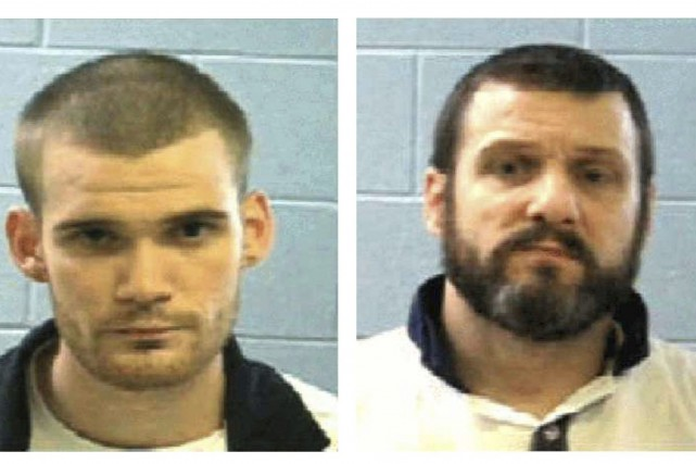 Ricky Dubose et Donnie Russell Rowe.... (Photo Georgia Department of Corrections via AP)