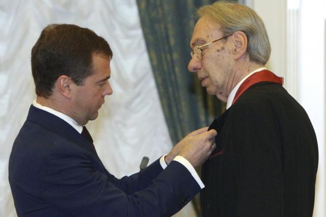 En décembre 2008, le président russe Dmitri Medvedev... (PHOTO ARCHIVES AP)