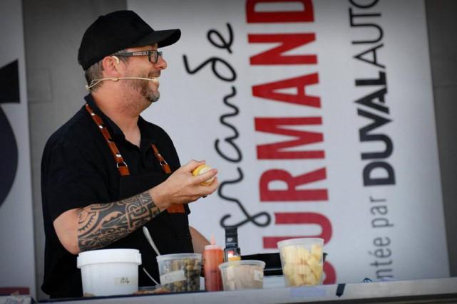 Le chef Ian Perreault est un des ambassadeurs... (Photo tirée de la page Facebook du festival)
