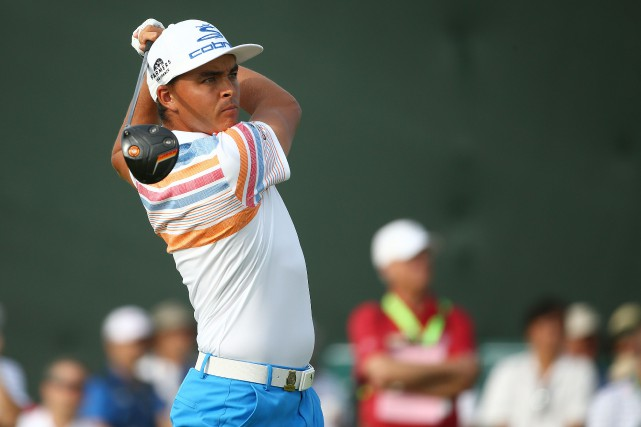 Rickie Fowler a joué une ronde de 65,... (Photo Rob Schumacher, USA Today Sports)