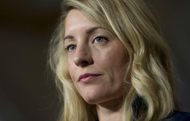 La ministre du Patrimoine, Mélanie Joly, a fait... (La Presse Canadienne, Adrian Wyld)