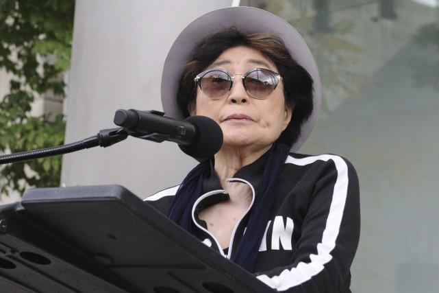 Yoko Ono en octobre 2016... (AFP, Nova Safo)