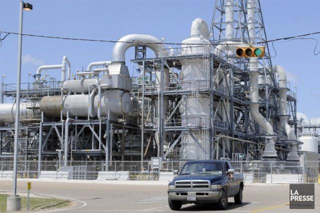 Une usine de Dow Chemical au Texas.... (Photo archives AP)