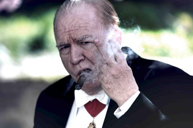 L'incarnation de Winston Churchill par Brian Cox est... (Fournie par Métropole films)