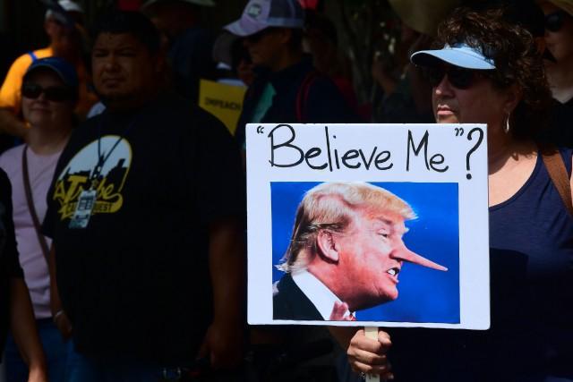 Parmi les six Américains sur dix estimant que... (PHOTO AFP)