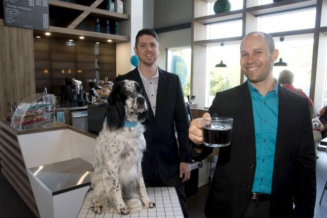 Les deux propriétaires de l'hôpital vétérinaire Les Rivières,... (Sylvain Mayer)