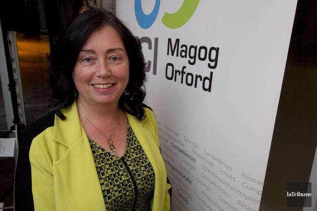 La mairesse de Magog Vicki-May Hamm pense que... (archives la tribune)