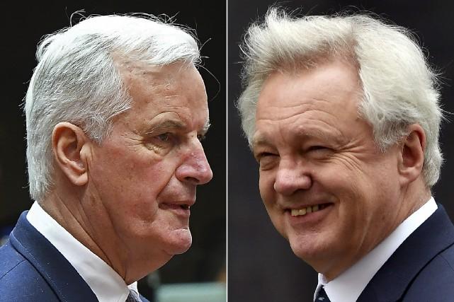 Le négociateur en chef de la Commission européenne,... (Archives AFP)