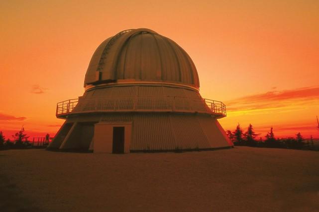 Observatoire du Mont-Mégantic.... (Photo fournie)