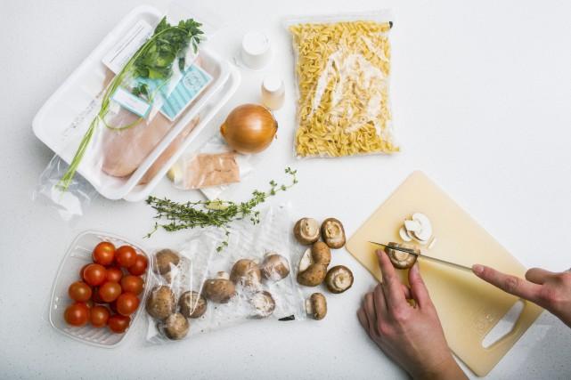 Les concepts de repas prêts à cuisiner, comme... (Photo archives La Presse)