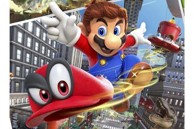 Super Mario Odyssey sera en marché en octobre... (fournie par Nintendo)