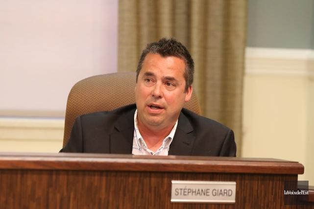 Stéphane Giard, conseiller municipal à Granby... (Janick Marois, La Voix de l'Est)