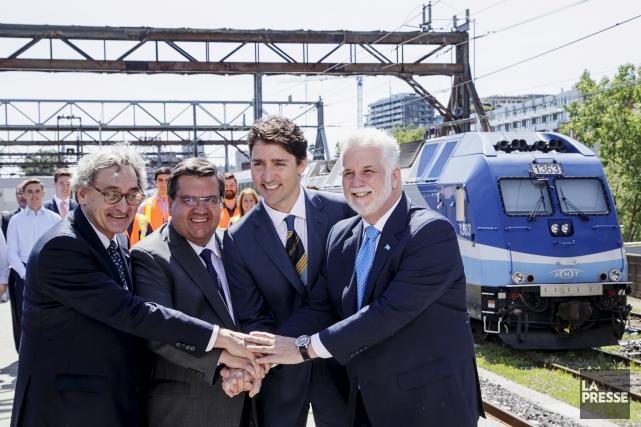 Le premier ministre Justin Trudeau a fait l'annonce... (LA PRESSE, ALAIN ROBERGE)