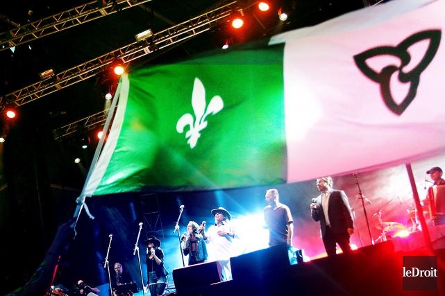 Le festival Franco rendait hommage à Paul Demers,... (Etienne Ranger, Le Droit)