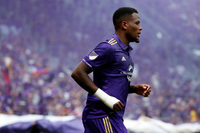 Cyle Larin a été arrêté par la police floridienne,... (Photo Kim Klement, archives USA TODAY Sports)