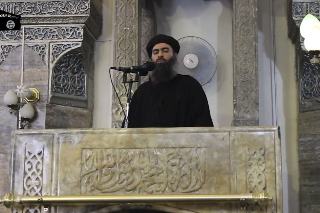 Photo d'un homme présumé être le dirigeant de... (AFP)