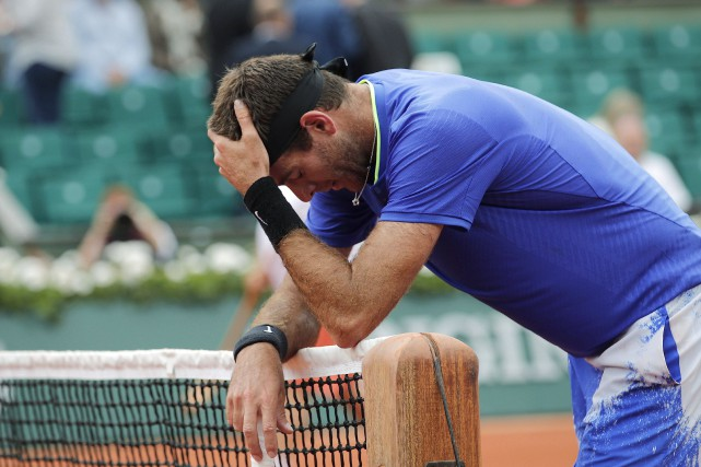 Juan Martin del Potro... (Photo Christophe Ena, AP)