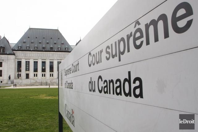Selon la tradition, le poste de juge en... (Etienne Ranger, Archives Le Droit)