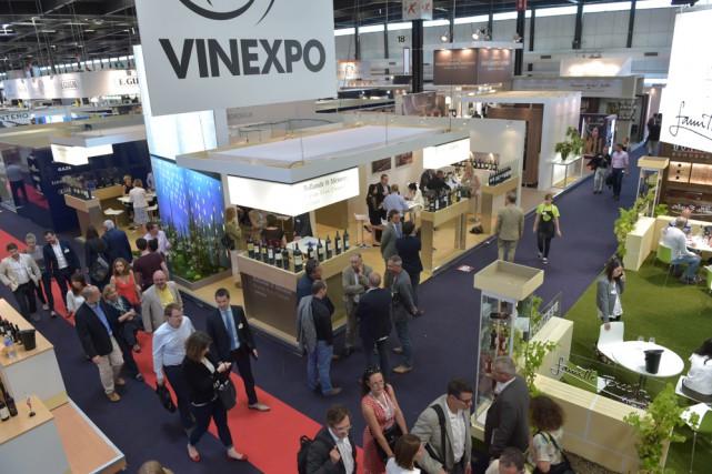 Nouvel espace dédié au vin bio, retour du Beaujolais, conférence sur... (Photo fournie par Vinexpo)