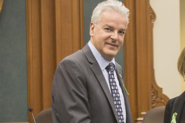 Bernard Sévigny... (Spectre Média, Marie-Lou Béland)