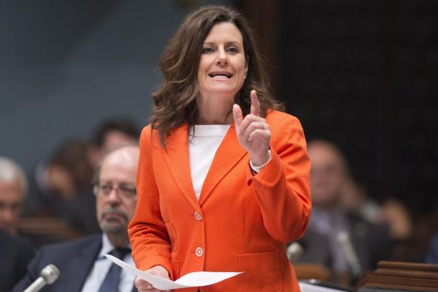 La ministre de la Justice Stéphanie Vallée, vendredi... (Jacques Boissinot, Archives La Presse canadienne)