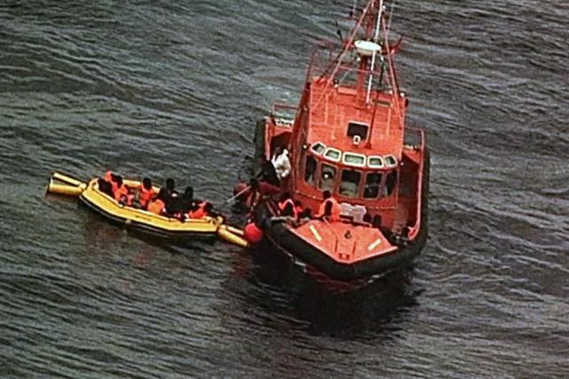 Les «arrivées irrégulières» sur les côtes européennes force... (Photo archives AFP)