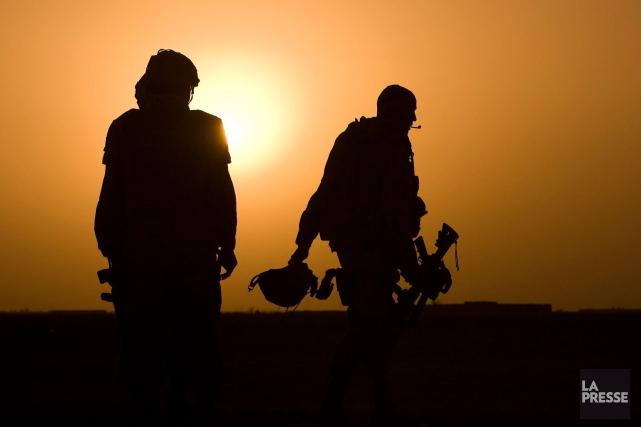Interrogé à savoir si un envoi en Syrie... (Photo Martin Tremblay, archives La Presse)
