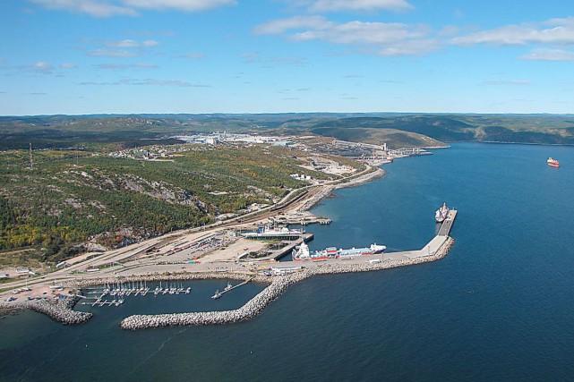 Les ports de Baie-Comeau (photo), Matane, Rimouski, Gaspé... (Fournie par la Ville de Baie-Comeau)
