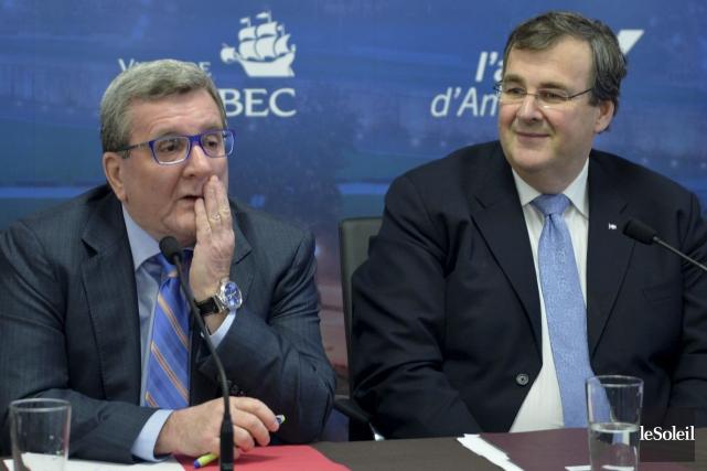 Le ministre François Blais dit avoir garanti au... (Photothèque Le Soleil, Pascal Ratthé)