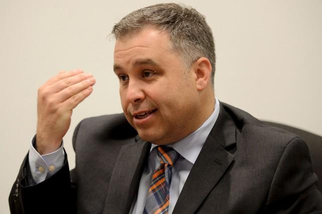 Le ministre de l'Éducation, Sébastien Proulx, dévoilera la... (Le Soleil, Erick Labbé)