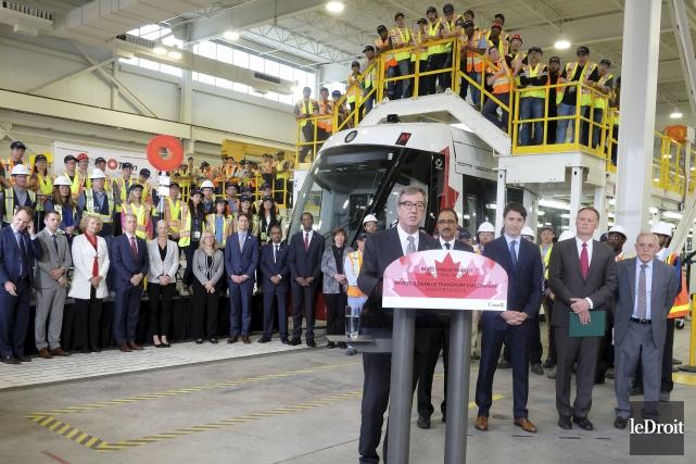 «Notre rêve est de continuer le O-Train à... (Patrick Woodbury, Le Droit)