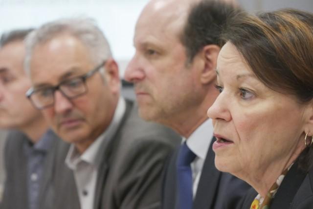 La présidente-directrice générale du CIUSSS de l'Estrie -... (Spectre Média, René Marquis)