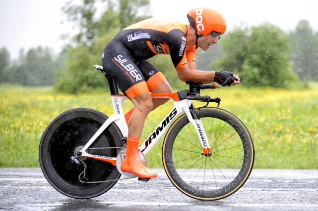 Alexander Cowan (Silber) a remporté le contre-la-montre de... (fournie par le Tour de Beauce, Brian Black Hodes)