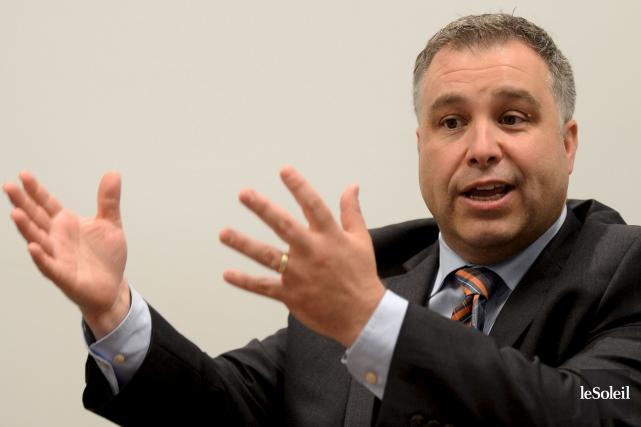 Le ministre de l'Éducation, Sébastien Proulx... (Le Soleil, Erick Labbé)