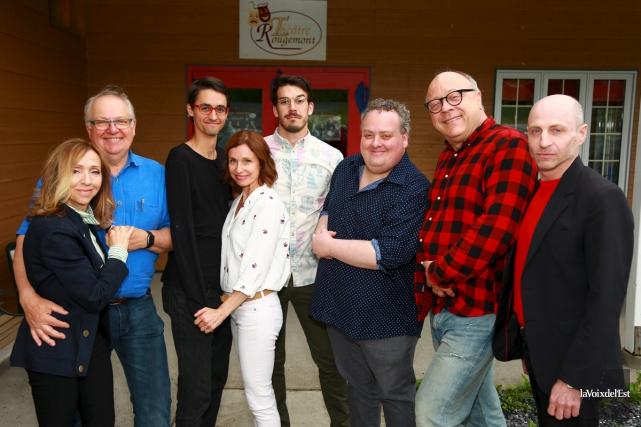 La pièce Chat en poche réunira huit comédiens... (Catherine Trudeau, La Voix de l'Est)