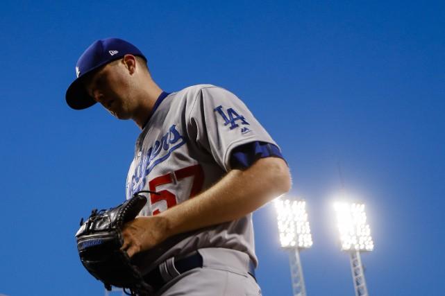 La lanceur Alex Wood a une fiche parfaite... (Photo John Minchillo, AP)