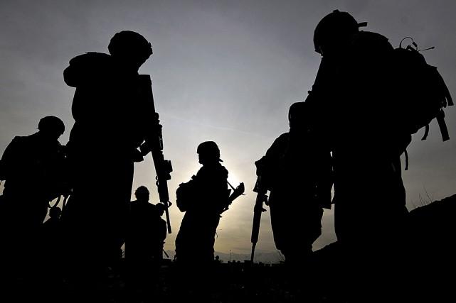 Ce nouvel incident contre les troupes américaines en... (PHOTO SHAH MARAI, ARCHIVES AGENCE FRANCE-PRESSE)