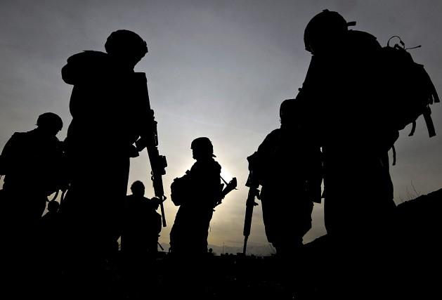Sept soldats américains ont été blessés samedi par... (Archives AFP, Shah Marai)