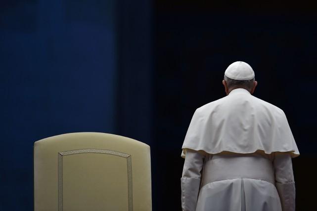 Le pape François... (PHOTO VINCENZO PINTO, ARCHIVES AFP)
